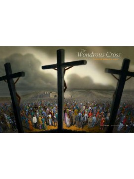 The Wondrous Cross 32x38 Wrap